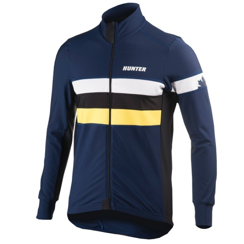 Hunter Thermojack RTR Speed Navy Geel