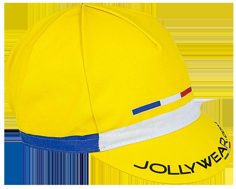 Jollywear Fietspet  geel