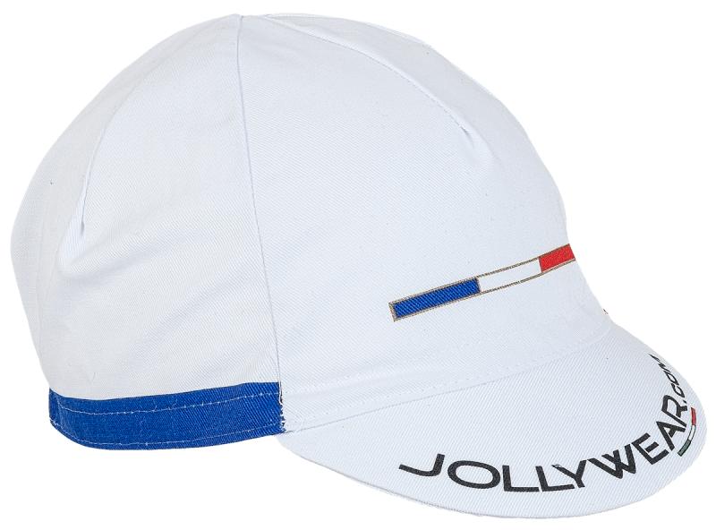 Jollywear Fietspet  wit