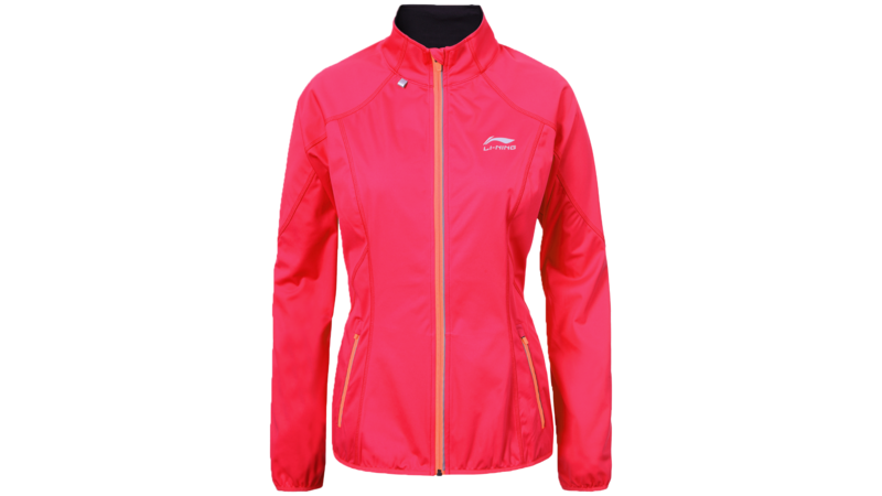 Li-Ning Women's running jacket - HANNELE [coral hot pink]