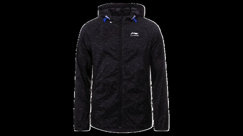 Li-Ning Men's running jacket - HARDEN [black]