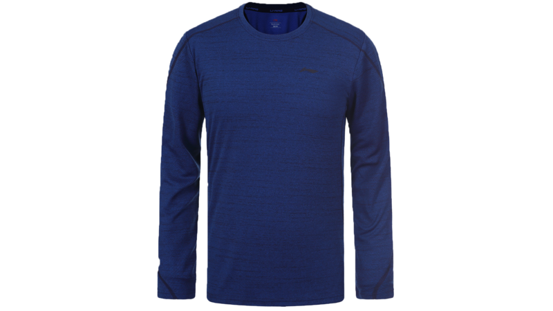 Li-Ning Jens long sleeve shirt [blue]