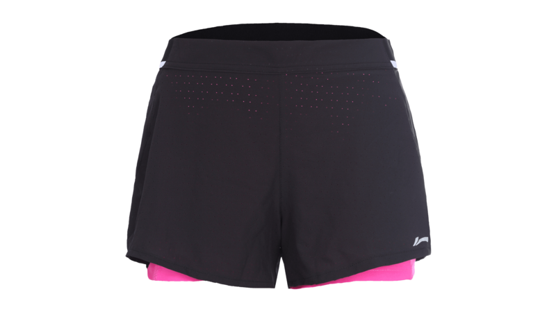 Li-NingLolly short trousers black