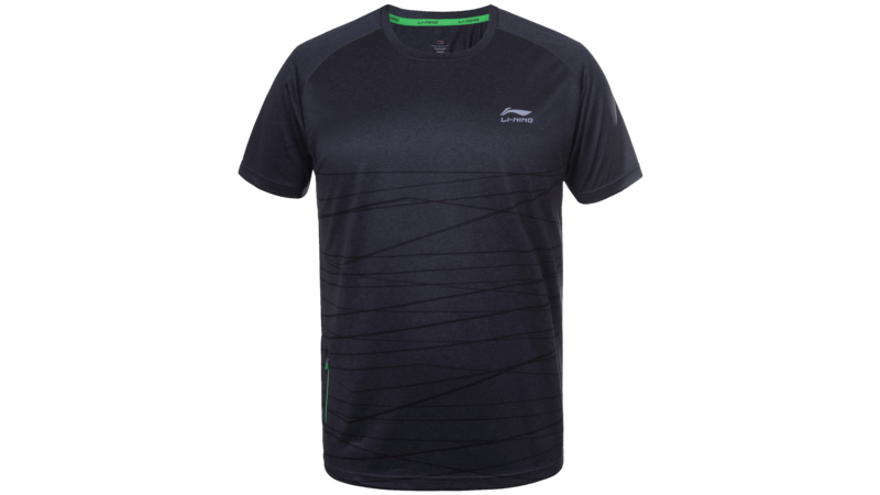 Li-Ning Lauri t-shirt anthracite
