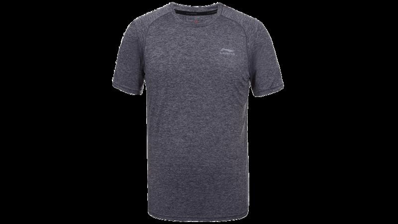 Li-Ning Fabio T-shirt anthracite texture