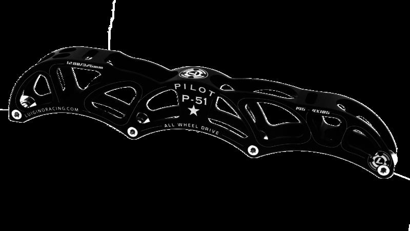 Luigino Pilot P-51 12.0 4x100mm | 195mm