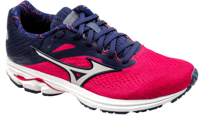 Mizuno Wave Rider 23 fuchsia/grey/black