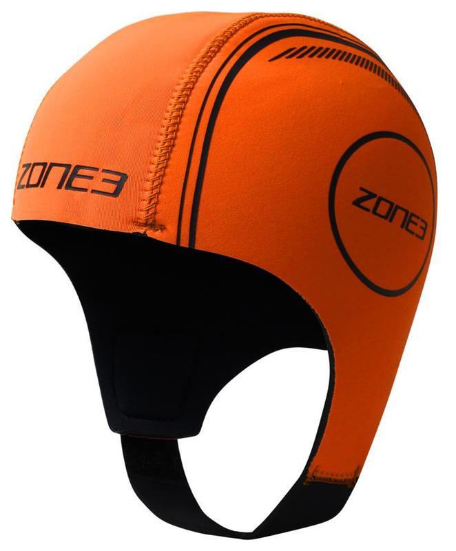 Zone3 Neoprene Swim Cap Orange