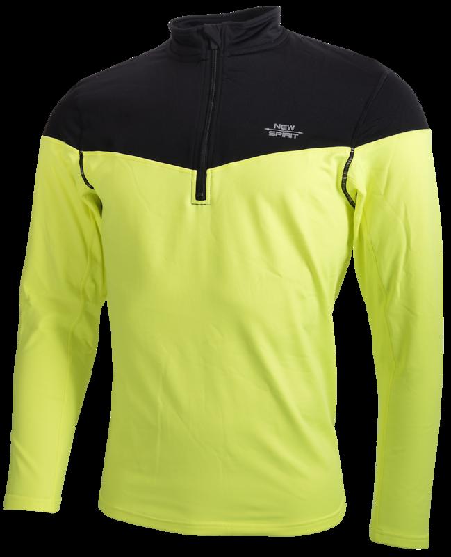 New Spirit Hardloop Shirt yellow black