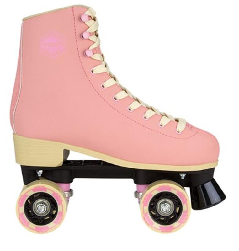 85d5381658a Nijdam Rolschaats retro eye candy leder bestellen bij Skate-dump.nl