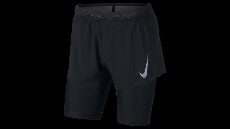 Nike Men's AeroSwift 2-in-1 Cool shorts black/gunsmoke