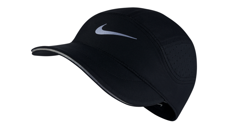 Nike Dri-Fit AeroBill running cap [black]