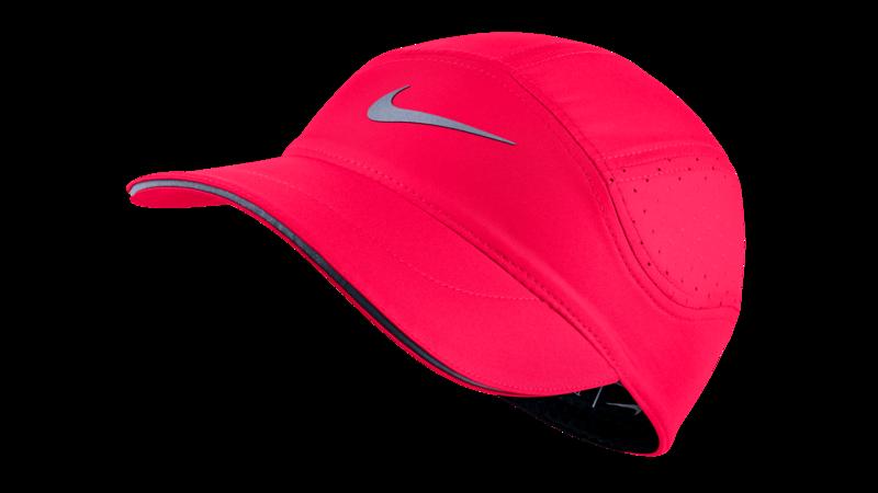Nike Women s Dri-Fit AeroBill running cap  racerpink black ... 5e4de4dbd24