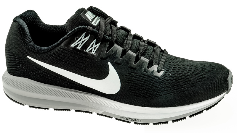 Nike Air Zoom Structure 21 black/white - wolf grey