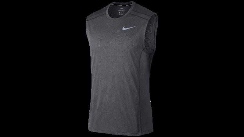 Nike Men's Cool Miler top [anthracite/wolf grey]