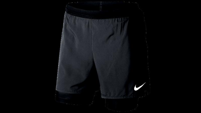 Nike Men's Distance 2-in-1 running shorts - black