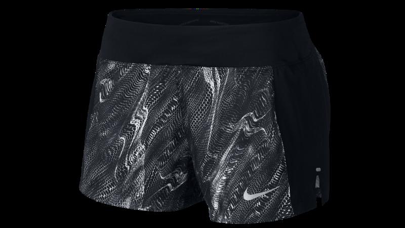 "Nike Eclipse 3"" running shorts black texture"