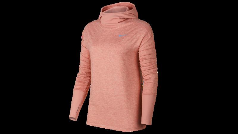 Nike Women's Element Hoodie running - rustpink