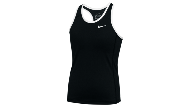 Nike Women's running tank [black-white]