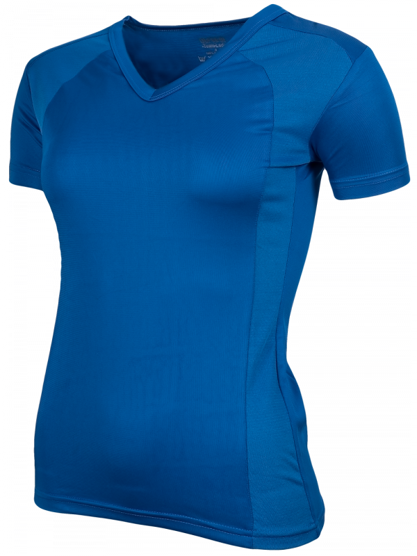 Oltees T-shirt dames Royal blauw