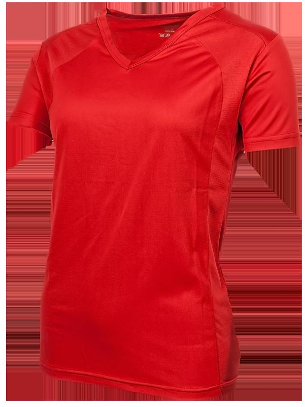 Oltees T- shirt dames Korte mouw rood