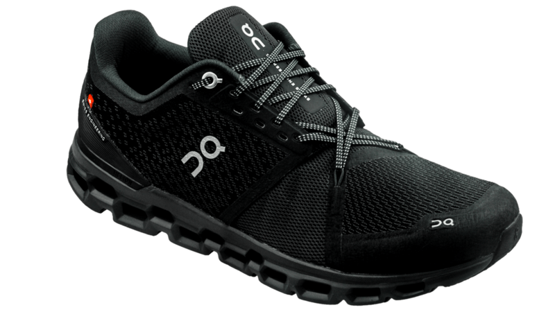 On Cloudstratus black/shadow [for WOMEN]