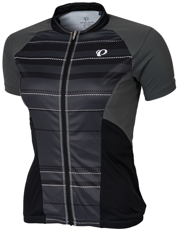 Pearl Izumi Wielershirt Elite Escape SS Jersey Shadow Stripe (Grey) Women
