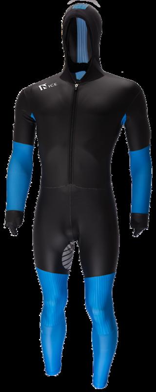 NiceRubber Speedpak Zwart/Blauw