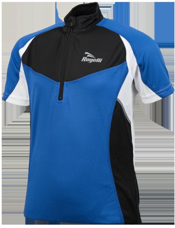 Rogelli Ranco wielershirt korte mouw Blauw