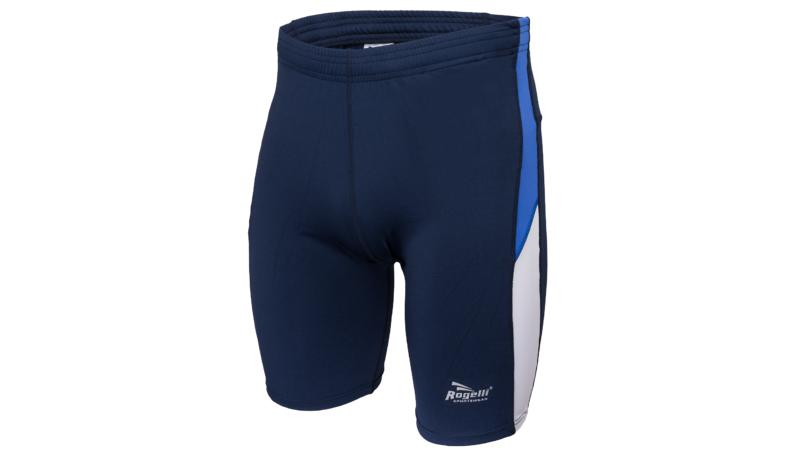Rogelli Running tight short siracusa marine/royal blue/white