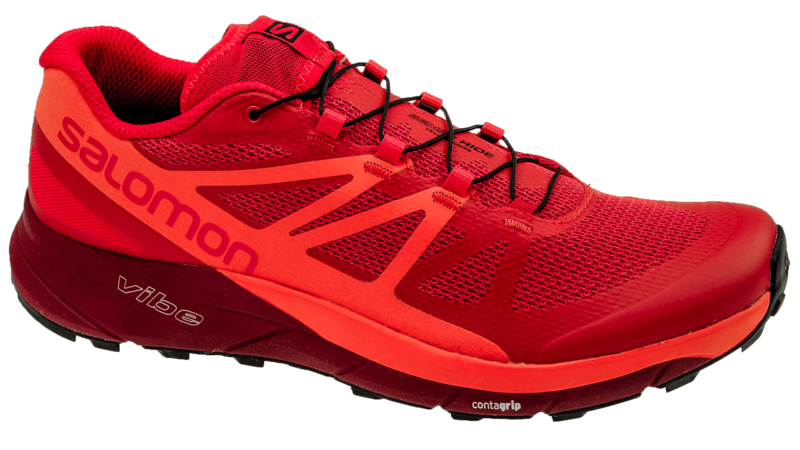 Salomon Sense Ride Fiery Red/Scarlet Ibis/Red Dalhia
