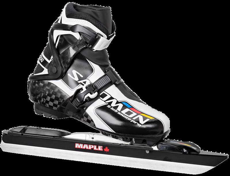 Salomon S-Lab Skate Pro met Maple Chrome