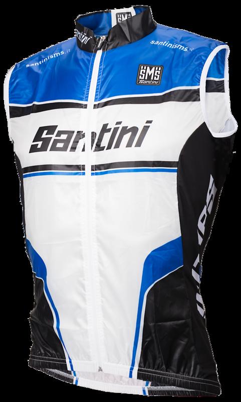 Santini Windstopper bodywarmer
