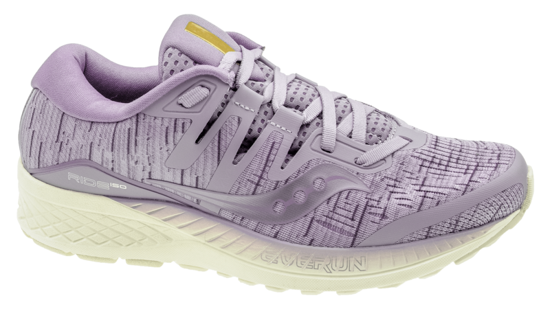 Saucony Ride ISO purple shade