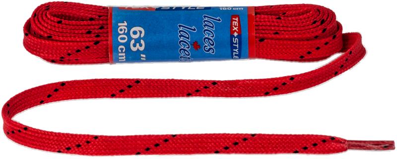 Texstyle Wax veters rood 160cm