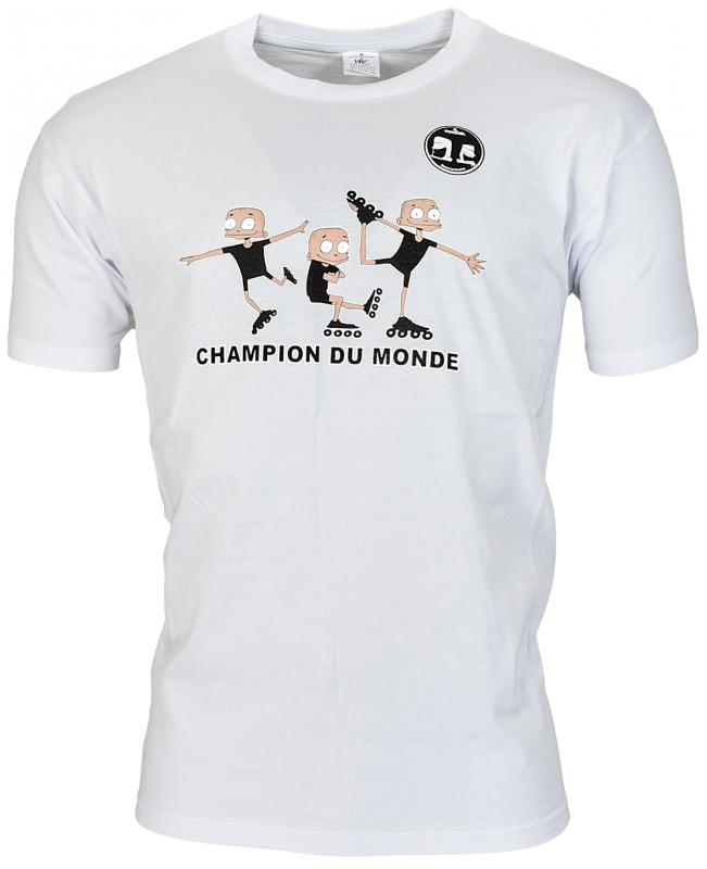 Champion du Monde T-shirt Wit