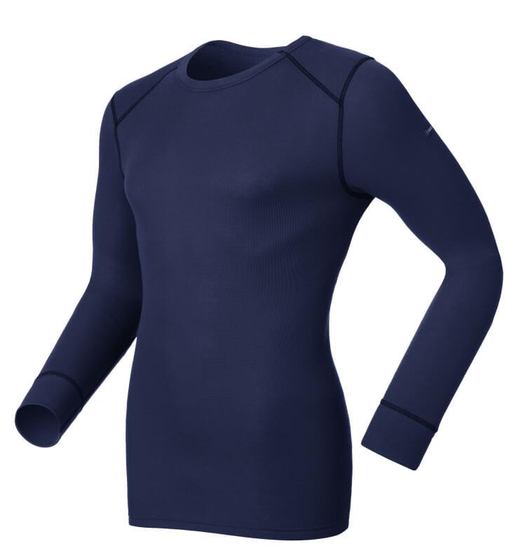 Odlo Heren Shirt l/s crew neck Warm