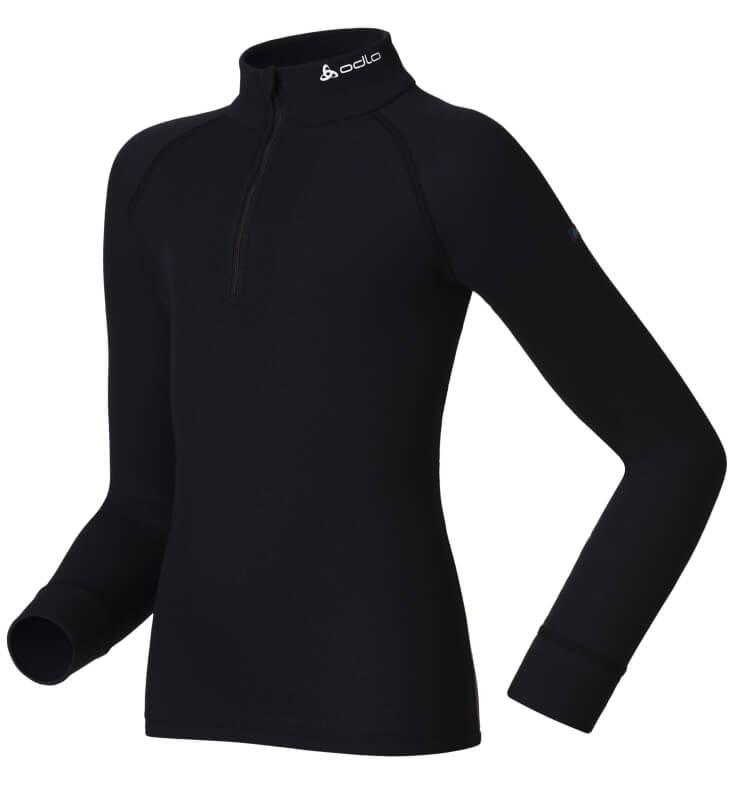 OdloKids Shirt L/S Turtle Neck 1/2 ZIP Originals WARM 10739