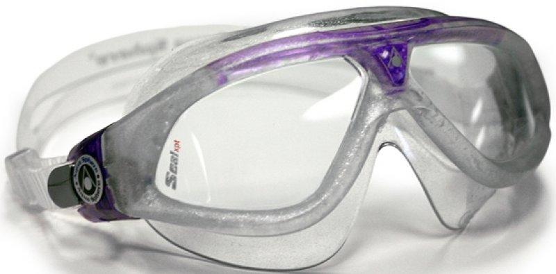 Aqua Sphere Seal XP Lady Sparkle Silver Purple Clear Lens