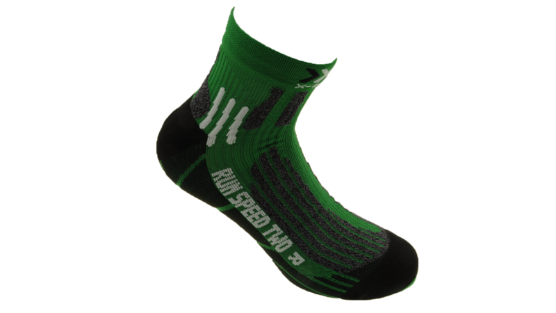 X-Socks Running Speed Two short green/black