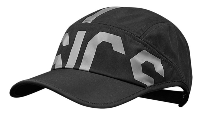 Asics training cap performance black/real white [winter]