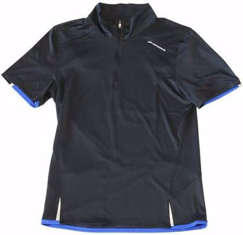 Brooks Men's Infinity ss 1/4 ZIP