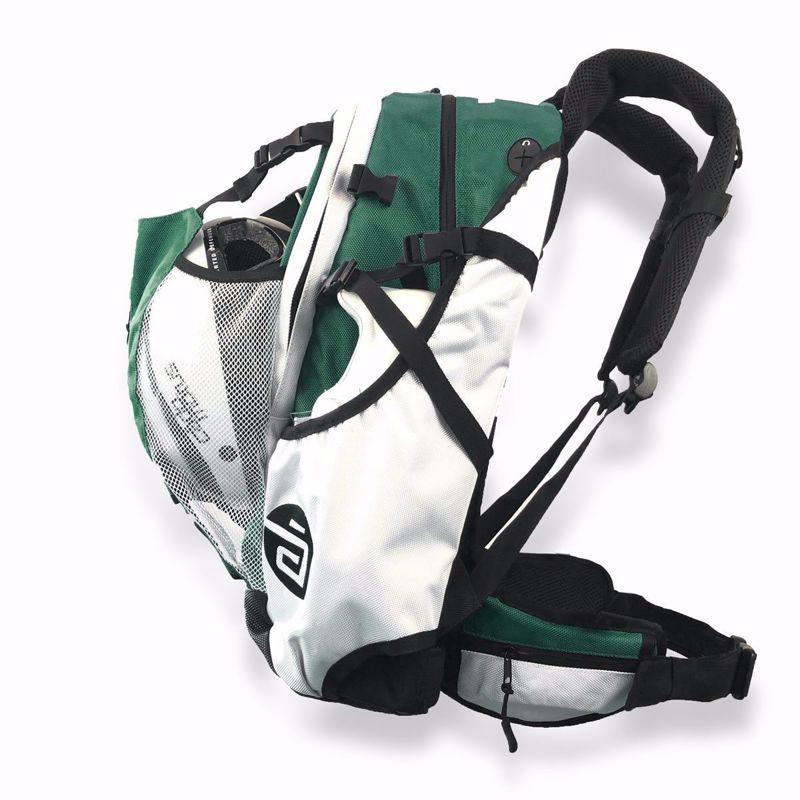 Cádomotus Airflow gear skate skeeler bag - donkergroen 30 L