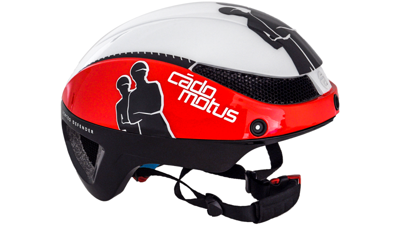 Cádo Motus Omega aero helm white/red & black