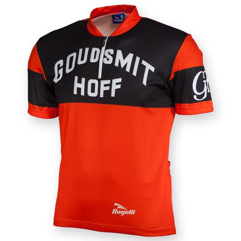 Rogelli Goudsmit Hoff retro wielershirt korte mouw