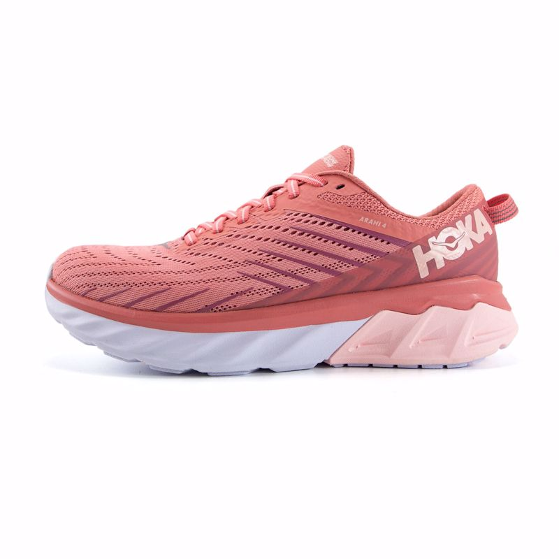 Hoka One One Arahi 4 Lantana/Heather Rose