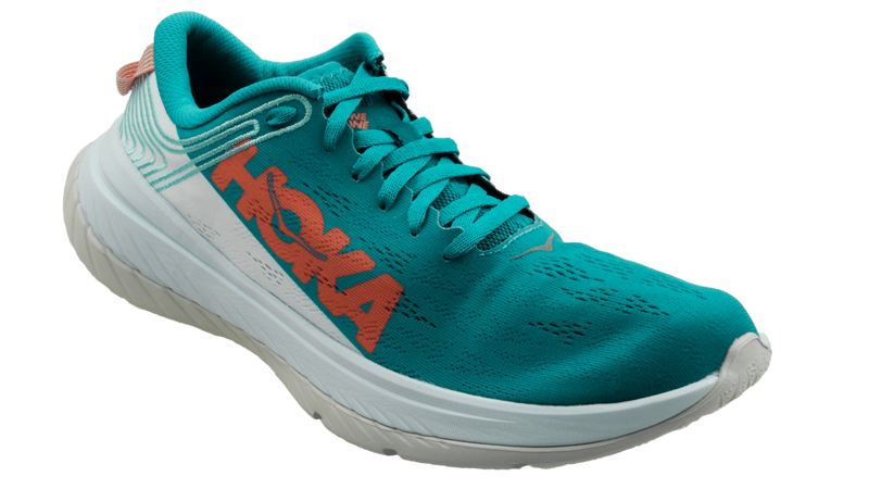 Hoka One One Women's CARBON X - CARIBBEAN SEA / WHITE