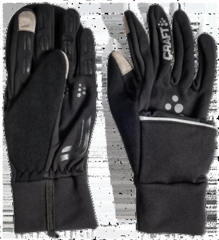 Craft Hybrid Weather handschoen wit/zwart