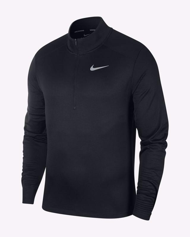 Nike Running top 1/2 zip black