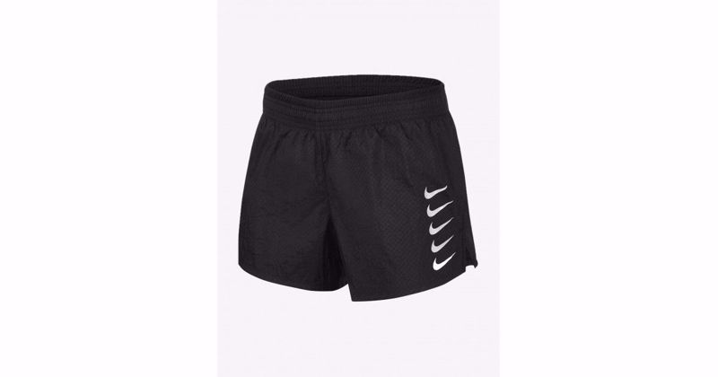 Nike Swoosh Run shorts Women black